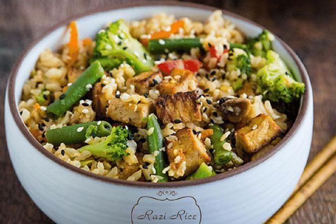 Razi Rice düyünün və Chabiant şərablarının dadması